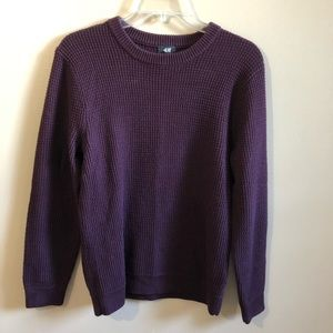 H and M Knit Sweater Long Sleeve Crew Neck